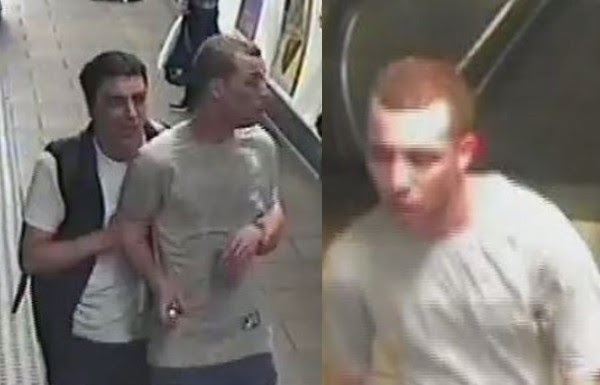 Manhunt launched after 2 men released canister of tear gas in packed London tube train