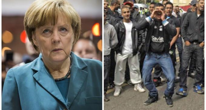 Merkel Muslim Madness Leads to 1/3 of Germans Demanding Her Resignation