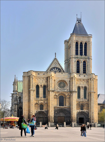Paris suburbs : The Basilica of Saint-Denis - 1/3 - EXPLORE by Pantchoa