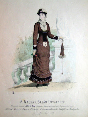 Fashion plate Hungary