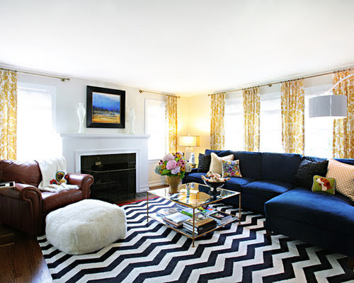 Decorating A Blue Couch Home Design Ideas, Pictures ...