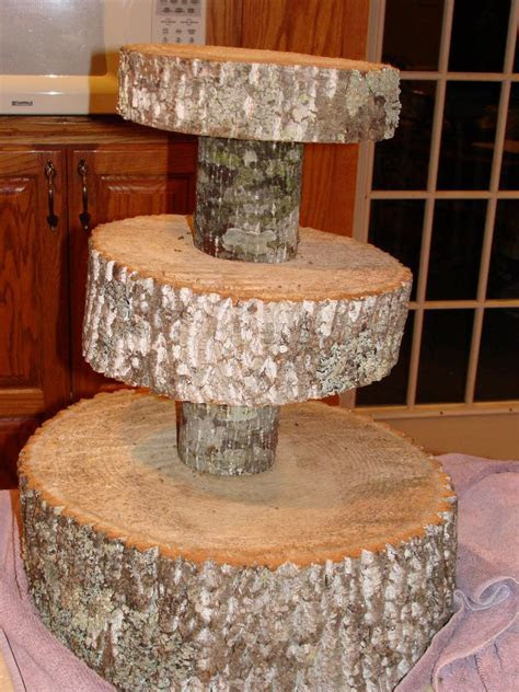 DIY Tree Cupcake Stand