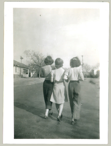 Three women from rear