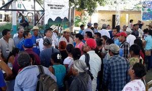 Rencontre Rivières et Montagnes en Danger, Oaxaca, novembre 2015 © SIPAZ