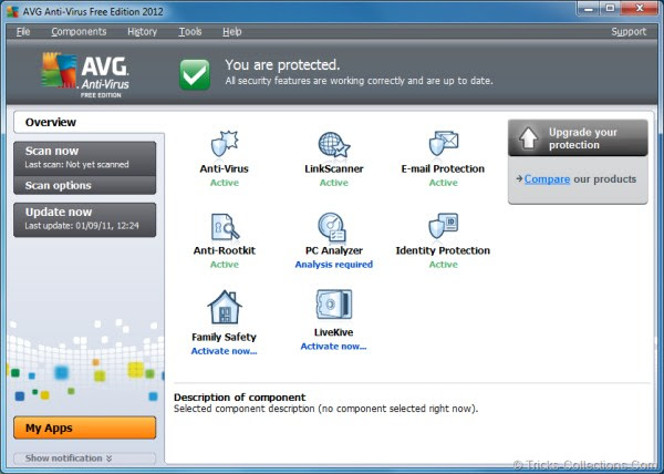 Free AVG Anti-Virus 2012 for Protect Your PC