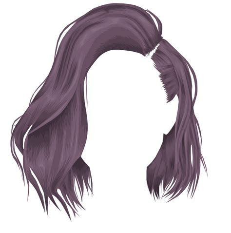 pin  manga hair  dissolving portraits