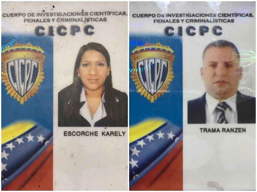 Resultado de imagen para DOS CICPC ASESINADAS EN EL          JUNQUITO
