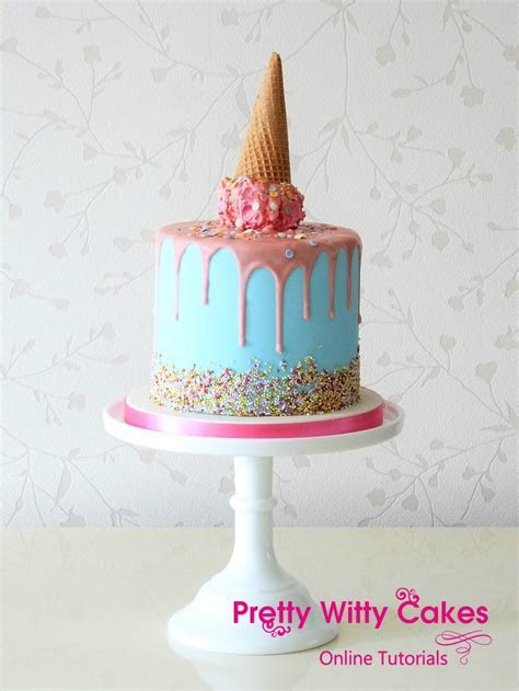 Drip Cake Masterclass   Online Cake Decorating Tutorials