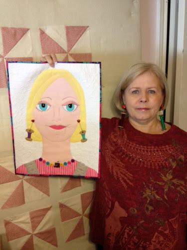 Lady #43 (Stephanie) with herself