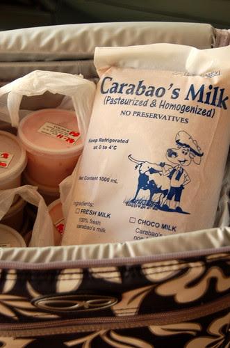 Carabao milk products