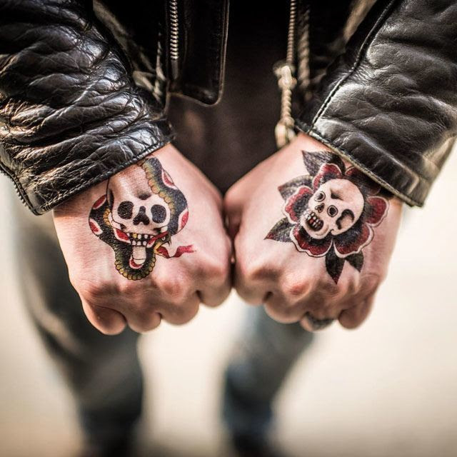 Skull Hand Tattoos Best Tattoo Ideas Gallery