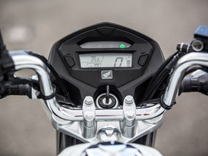 Painel da Honda CG 150 Titan 2014 (Foto: Raul Zito/G1)