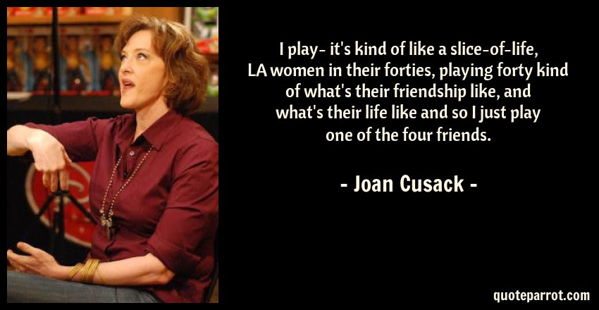I Play Its Kind Of Like A Slice Of Life La Women In By Joan
