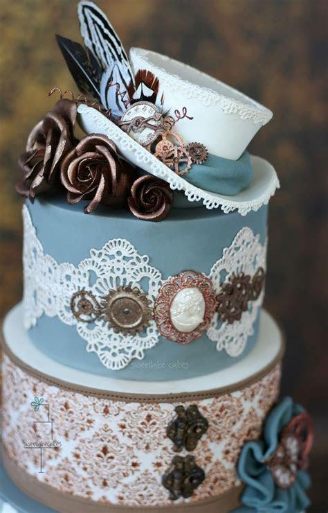 Best 25  Steampunk wedding cake ideas on Pinterest