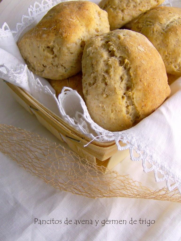 Pancitos de avena y germen de trigo