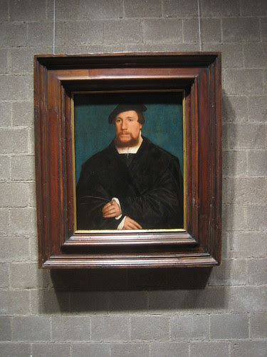 A Hanseatic Merchant, 1538, Hans Holbein the Younger _7717