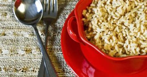 eating brown rice  day good   livestrongcom