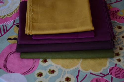 Blackbird Fly fabric selections