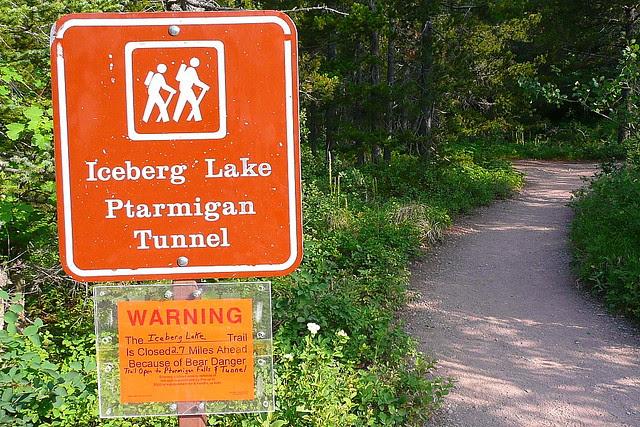 P1160481 Closure of Iceberg Lake Trail