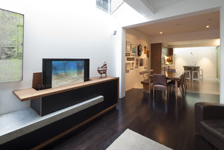 Newtown Terrace contemporary living room