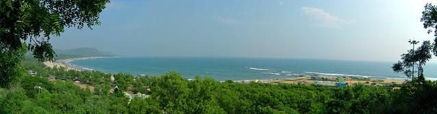 The Rushi Konda (Hill of Sages) Beach