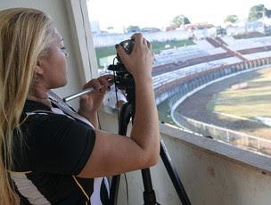 Mãe Gabriel Santos geração moicanos sub-15 (Foto: Cahê Mota / Globoesporte.com)
