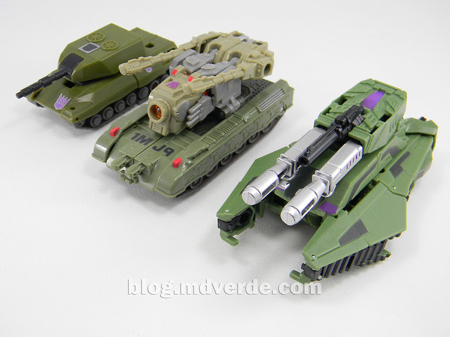 Transformers Brawl Generations Fall of Cybertron - SDCC Exclusive - modo alterno vs G1 vs Universe
