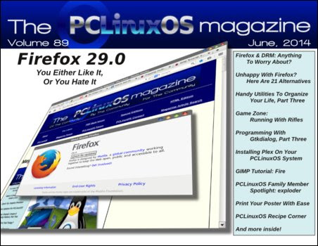 Περιοδικό PCLinuxOS Ιούνιος 2014