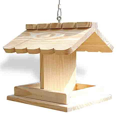 Mormortals Learn Large Wooden Bird Feeder Kits