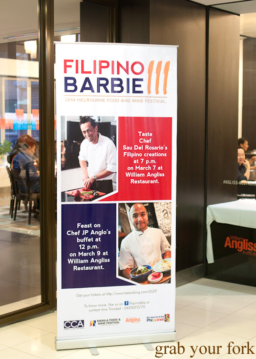 Filipino Barbie at the William Angliss Institute for the Melbourne Food and Wine Festival 2014