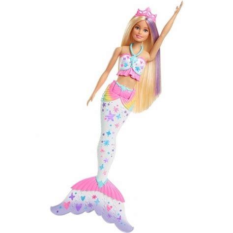 barbie dreamtopia renkli sihirli deniz kizi deniz kizi