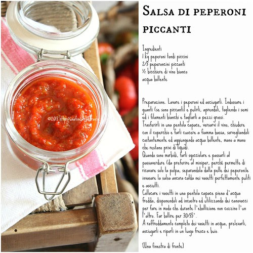Salsa di peperoni