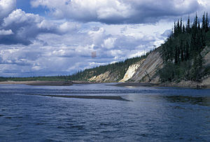 Lower Coleen River, Arctic National Wildlife R...
