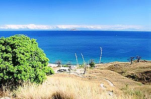 A view of the lake from Likoma Island