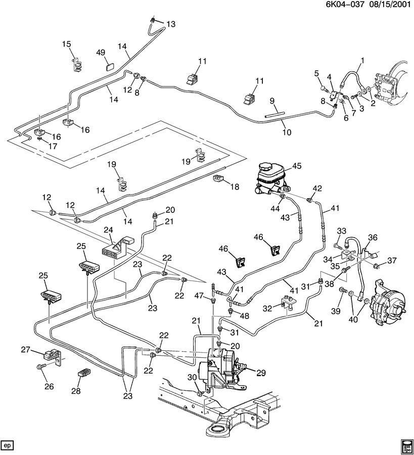 27 2001 Chevy Tahoe Brake Line Diagram