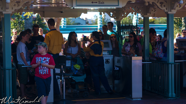Disneyland Resort, Disneyland, Main Entrance, Turnstile, Main Street U.S.A.