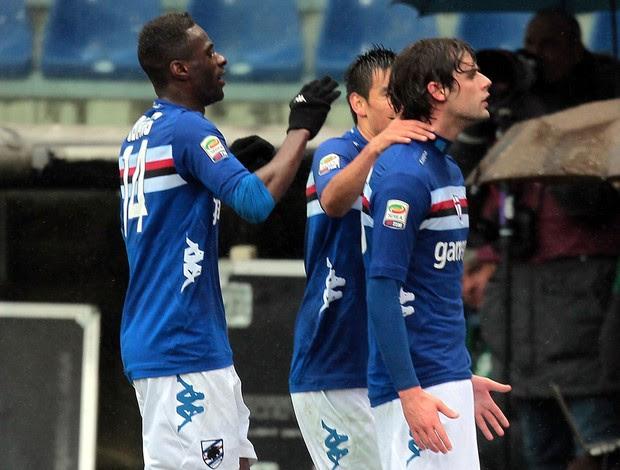 andrea poli sampdoria x Chievo  (Foto: Getty Images)