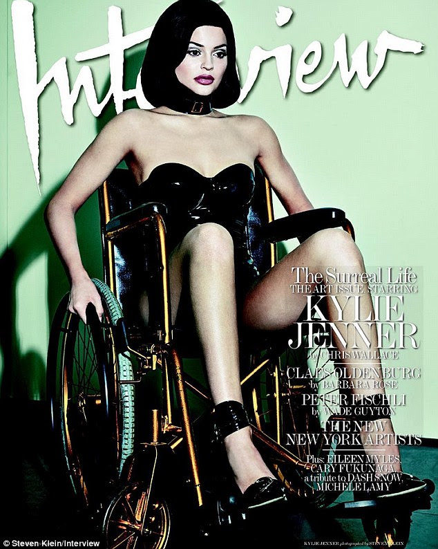 Taking the fashion crown: Kylie is set to break the internet with her latest shoot