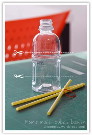 como fazer brinquedo reciclado garrafa pet fazer bolhas de sabao criancas ferias (4)