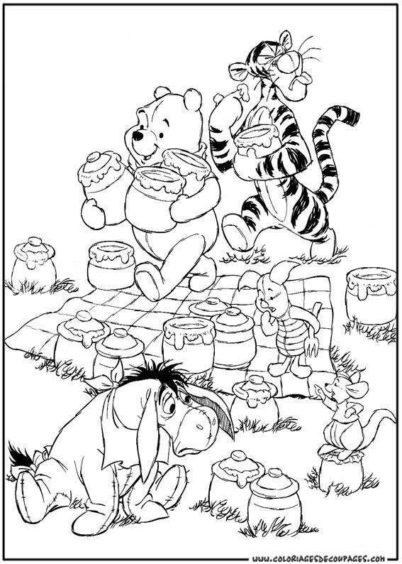 103 Dessins De Coloriage Winnie à Imprimer Sur Laguerchecom Page 3