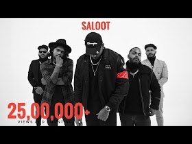 King - Saloot | The Gorilla Bounce | Prod. by Section 8 | Latest Hit Songs 2021 - Song Lyrics