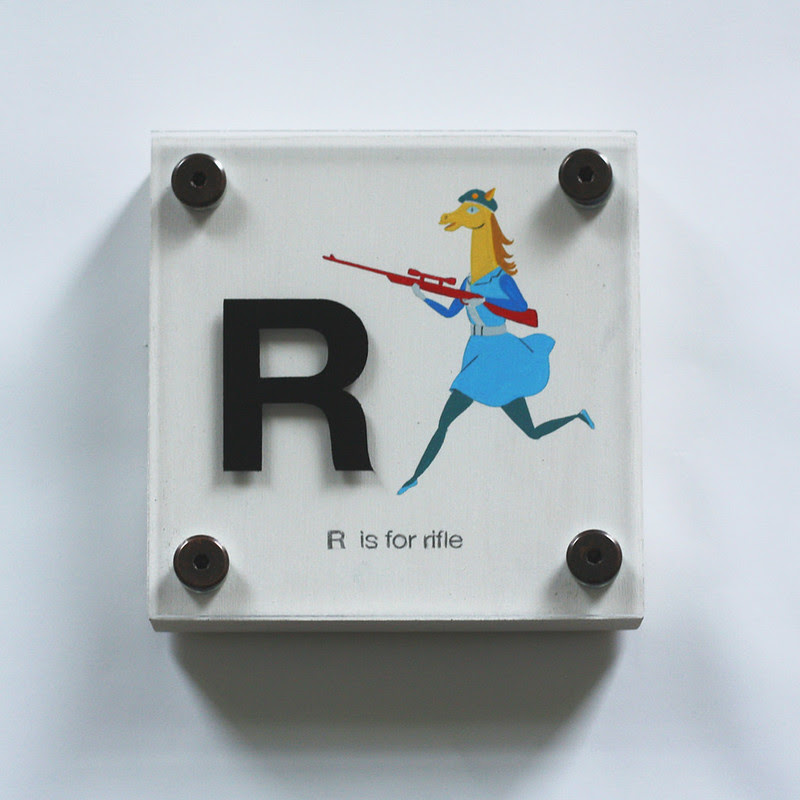 R IS FOR RIFLE