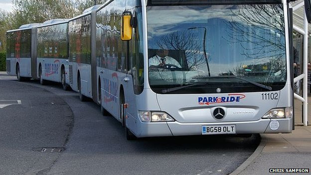 York park and ride bus