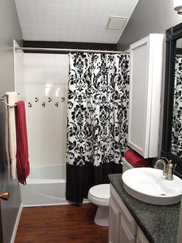 20 deko ideen fürs badezimmer  dekorative wandakzente und