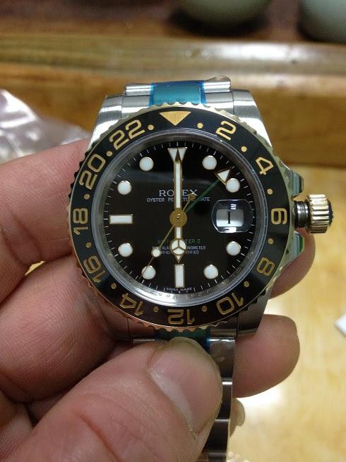 Noob Rolex 116713LN GMT Master II YG Wrapped 2
