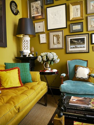Yellow Sofa / Yellow Walls