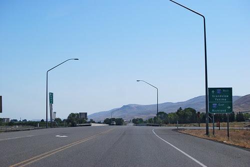 SR 22 @ I-82 eastward