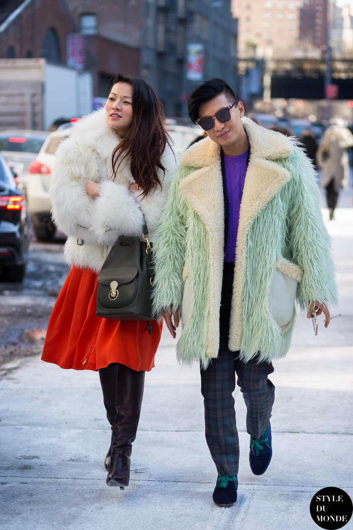 Bryanboy and Tina Leung Street Style Street Fashion Streetsnaps by STYLEDUMONDE Street Style Fashion Blog