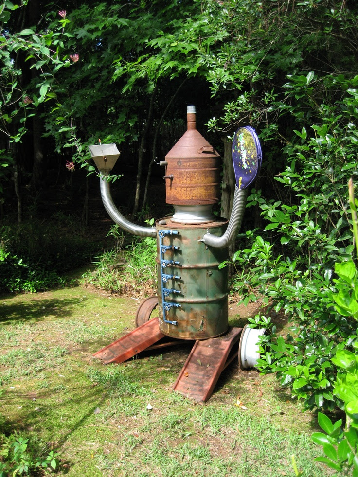 Scrap Metal Man | Recycled Metal Garden Art | Pinterest