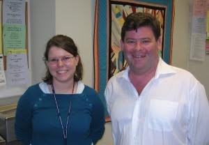 Jared Collins and Laura Rayburn